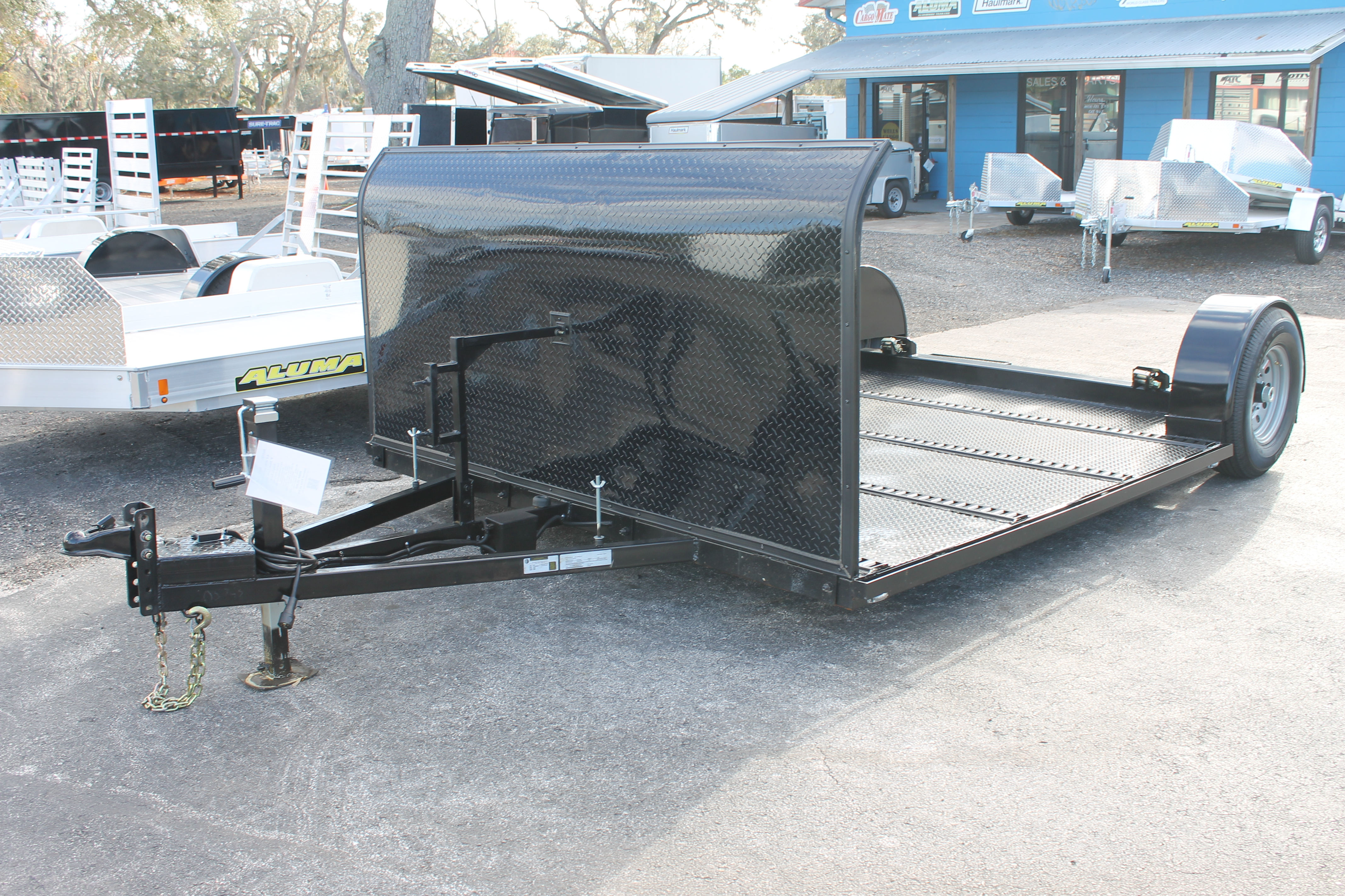 Trailer and Tow Dolly in one | Deck Over Dolly
